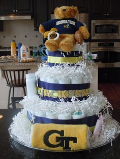 Icing Makes the Cake: Georgia Tech Baby Shower