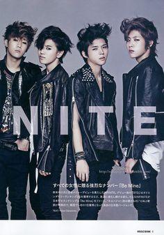 Infinite for May 2012 Issue of MuBank Magazine Hoya Infinite, Kim Myungsoo, Infinite Members, High School Love, Master's Sun, Nam Woo Hyun, Korean K Pop, Woollim Entertainment, Korean Bands
