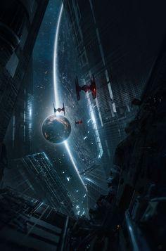 New star wars concept art pictures Ideas Star Wars Fan Art, Star Wars Concept Art, Concept Art World, Star Wars Film, Star Wars Poster, Star Trek, Star Destroyer, Star Citizen, Anakin Vader