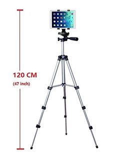 Professional Camera Tripod Monopod Mount Holder Stand for iPad mini 4 3 2 1 ** Find out more about the great product at the image link. (This is an affiliate link) Ipad Mount, Tablet Mount, Phone Tripod, Camera Tripod, Universal Tv Mount, Iphone 6, Speaker Mounts, Tv Stand With Mount