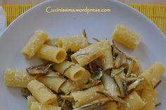 pasta con carcofi