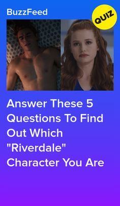 """Answer These 5 Questions To Find Out Which """"Riverdale"""" Character You Are"""