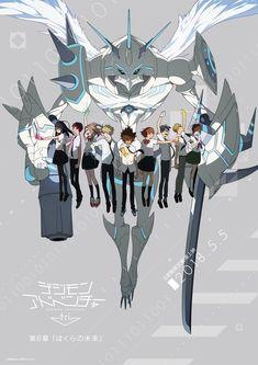 La 6ta Película de Digimon Adventure tri ya Cuenta con una Nuevo Visual!! | OtakuTime