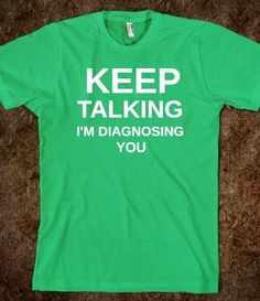 If there was ever a shirt that I desperately need...