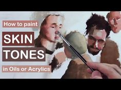 ▶ How to Paint Light Skin Flesh Tones in Oils or Acrylics - YouTube
