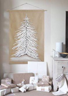 Aide, Collections, Linen Fabric, Glass Art, French Crafts, Fir Tree, Minimalist