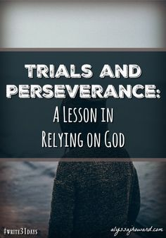 God will often allow trials in our lives to show us our need for Him. In this way, we can expect to encounter trials that we can't handle apart from Him. Christian Devotions, Christian Encouragement, Christian Life, Christian Living, Youth Lessons, Bible Lessons, Sermon Illustrations, Adversity Quotes, Prayers For Strength