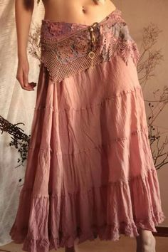 Best Ideas For Sewing Skirts Boho Hippie Chic Gypsy Style, Boho Gypsy, Hippie Style, Bohemian Style, Hippie Boho, Bohemian Skirt, Boho Outfits, Cute Outfits, Country Outfits