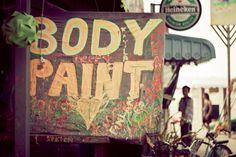 #Thailand #fullmoon #party #beach #bodypaint