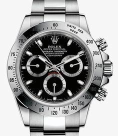 Orologio Rolex Cosmograph Daytona: Acciaio 904L – 116520