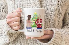 Best Friend Mug, Friend Mugs, Best Friend Birthday, Best Friend Gifts, Graduation Gifts For Sister, Personalized Graduation Gifts, Sister Gifts, Christmas Gifts For Friends, Christmas Mugs
