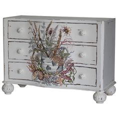 Turing Chest of Drawers. Customize items with any of our wide range of finishes, colors, and hand painted artwork. Any item can be painted in over million ways enabling items to be truly unique. The possibility are nearly endless and include stained, distressed, textured, antiqued, weathered and metallic finishes. In addition, artwork is available on most items. Items can be customized with any of our hand painted designs.#StevenShell