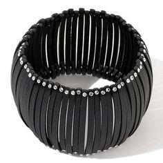 Paula Abdul FYG Fabulous Glamour Crystal Domed Stretch Bracelet #PaulaAbdul #Stretch