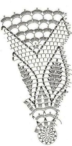 Motif Mandala Crochet, Crochet Doily Diagram, Crochet Circles, Crochet Doily Patterns, Filet Crochet, Crochet Bear, Thread Crochet, Crochet Stitches, Crochet Dollies