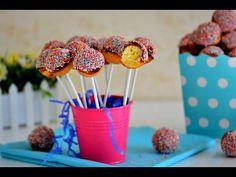 Cake Pops Nasıl Yapılır ? - Pop Kek Tarifi - İdil Yazar - YouTube