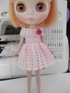 Blythe Crochet dress by ShopSSweet on Etsy