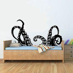 Octopus tentacles arms Vinyl Wall Art Decal Sticker JS Artworks http://www.amazon.com/dp/B00NKGK1U0/ref=cm_sw_r_pi_dp_8myjub0EYG47G