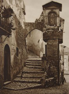 Old City Steps #EuropeanArt