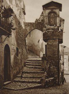 Old City Steps #EuropeanArt
