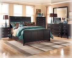 Love The Teal Brown Our Bedroom Furniture Sets