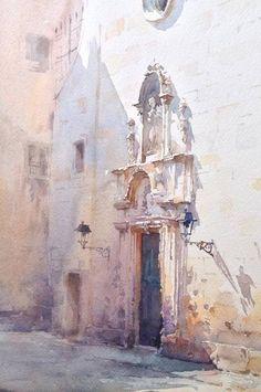 Watercolor by Igor Sava #watercolor jd
