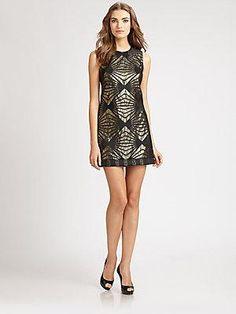 ABS Brocade Dress