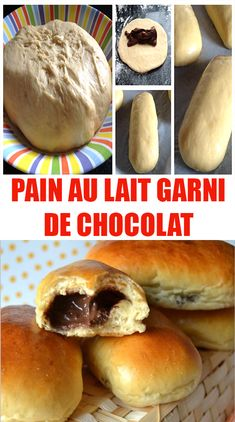 A good recipe for milk bread topped with easy chocolate, to make with or . - A good recipe for milk bread topped with easy chocolate, to make with or without a machine, rolls t - Easy Smoothie Recipes, Easy Smoothies, Good Healthy Recipes, Snack Recipes, Healthy Smoothie, Milk Bread Recipe, Coconut Recipes, Chocolate Desserts, Good Food