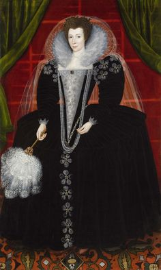 """Portrait of a Lady, probably Elizabeth Southwell née Howard,"" circa 1600"