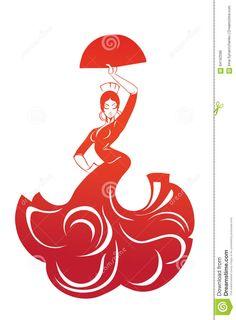 cuadros de flamencas dibujos - Recherche Google