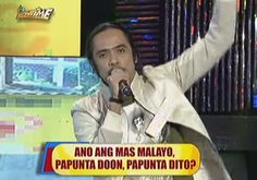 It's Showtime 'Funny One' contestants Gibis Alejandrino and Ryan Rems Sarita, popularly known for his signature quip 'Rock and Roll to the World,' once again revved up the audience of the show on Thursday, July 30.