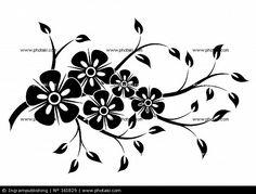 Les éléments décoratifs floraux pour le design, vecteur, fleur, printemps