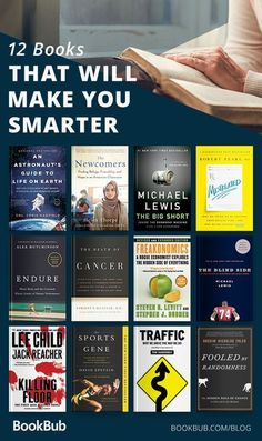 Books Recommended by Malcolm Gladwell 12 books that are sure to make you smarter. Great list of nonfiction books that are sure to make you smarter. Great list of nonfiction titles. Books Everyone Should Read, Best Books To Read, Good Books, My Books, Best Non Fiction Books, Books To Read In Your 20s, Book Suggestions, Book Recommendations, Book Club Books