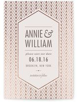 Elegant Charm Foil-Pressed Save The Date Cards Unique Save The Dates, Text You, Save The Date Cards, Thank You Cards, Dating, Elegant, Appreciation Cards, Classy, Quotes