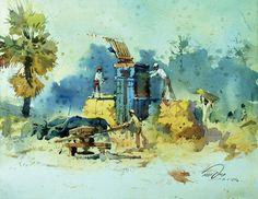 vasudeo kamath landscapes - Google Search