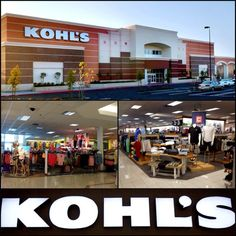 Kohl's Store!! They have the best clearance.  Better then target!