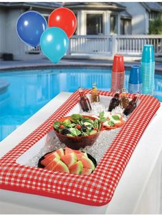 Picnic Party Inflatable Cooler - Individualized Party Decorations