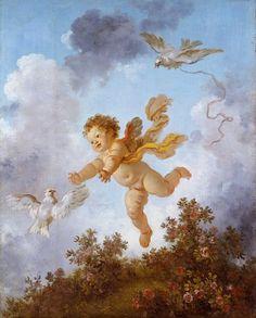 Картины.Жан Оноре Фрагонар.18 век.