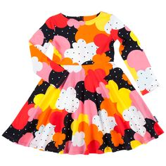 How amazing is this retro inspired twirl dress!?  Polarn O. Pyret USA