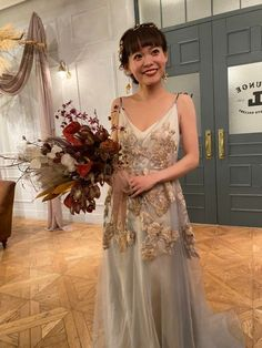 Bouquet, Bride, Formal Dresses, Wedding, Color, Style, Fashion, Wedding Bride, Dresses For Formal