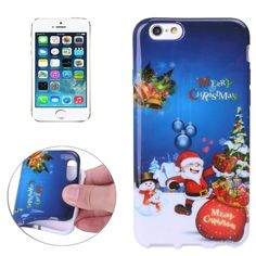 [$1.30] Merry Christmas Santa Claus Snowman Gift Small Bell Pattern TPU Protective Case for iPhone 5 & 5s