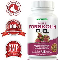 Best Appetite Suppressant - Pure Forskolin Fuel for Weight Loss - 100% Pure Maximum Strength Fat Burner (60 Capsules) Research Verified Coleus Forskohlii Extract Supplement Standardized 20% * See this great product.