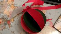 Bola fofinha para a árvore de Natal!