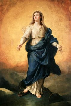 Anton Raphael Mengs. The Immaculate Conception, 1770.