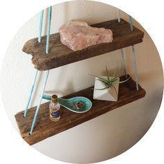reclaimed redwood shelf // susustudio.bigcartel.com