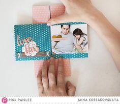Endless Album + Yuletide Review @pinkpaislee @akossakovskaya #pinkpaislee #scrapbook #diy #ppcedarlane
