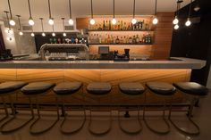 Restaurant-bar Le Rosewood - 60 St-Jacques, Old Montreal.   Designed by Motif Crédit Photo: Eve Dubuc St Jacques, Old Montreal, Motif Design, Restaurant Bar, Conference Room, Interior Design, Architecture, Table, Furniture