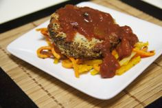 "Gluten Free, Vegetarian and Optional Vegan Eggplant Parmesan - with Sweet Potato and Butternut Squash Sage ""Pasta"""