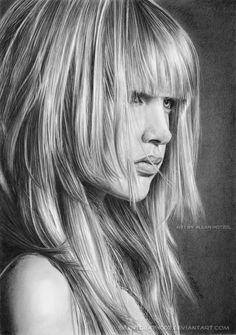 Por Amor al Arte: Dibujos Realistas Hechos a Lápiz por Hotzel Allan