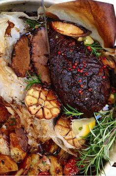 Greek Vegan Lamb • this sort of freaks me out but perhaps carnivores friends might enjoy?