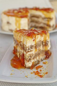 Hungarian Cake, Hungarian Recipes, Pie Recipes, Vegan Recipes, Dessert Recipes, Torte Recepti, No Bake Cake, Food And Drink, Sweets